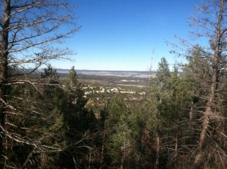 Hiking above Colorado Springs